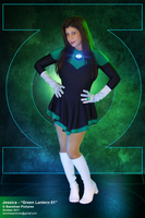 Jessica - 'Green Lantern 01' by JimCorrigan