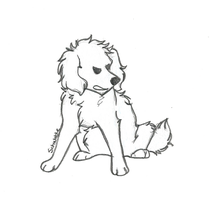 Schwable the Zombie Poodle by JayLights