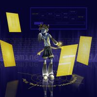 Commission: Kagamine Len Append by NeoSailorCrystal