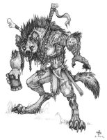 The Drunken Gnoll by BadInspiration