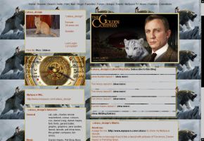The Golden Compass layout by musicalcat