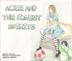 Alice and the forest spirits by RAYRAY2