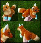 Commission: Brown Fox Academy mascotte by goiku