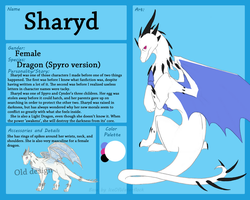 Sharyd ref sheet by IceOfWaterflock