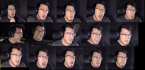 Markiplier's Expressions by SweetMagicks