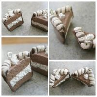 Chocolate Cream Cake by CraftyAlice