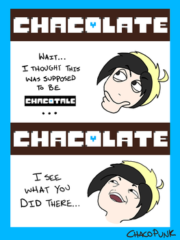 Chocolate Anagrams by ChacoPunk