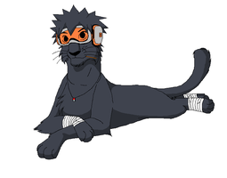 Obito lion by Fellipatwins