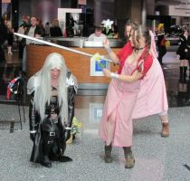 Aerith vs Sephiroth Take 2 by smithers456