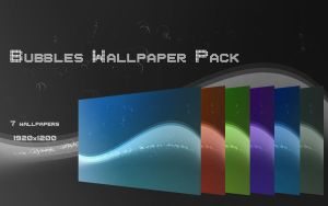 Bubbles wallpaper pack by Shadow-Trance