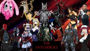 The Anti-Heroez (Unofficial Roster) by MarkellBarnes360