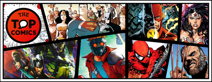 The Top Comics Banner by LibraDesigns