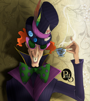The Mad Hatter by Biro-boi