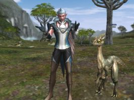 Lineage 2 - Dinosaur Pet by Brownfinger