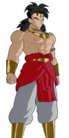 Broly New Look by JensTheSaiyan