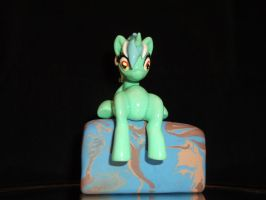 Lyra Laptop Hugger (front view) by DeadHeartMare