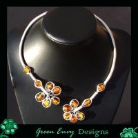 Goddess o the sun necklace by green-envy-designs