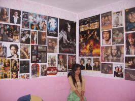Johnny Depp Room by aLittle-Priest92