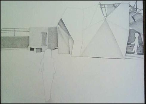 Architecture scale drawing by Deejayana