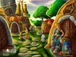 FF9 - A moment's Rest at Dali by ditozero21