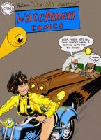 Detective Comics 233 redone with The Watchmen by Nick-Perks