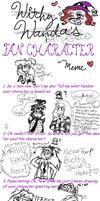Battyjuice Fancharacter Meme by WitchyWanda