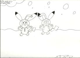 A Pair of wild Snorkachu appeared by DFX4509B