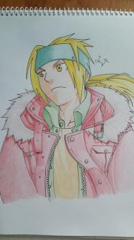 Edward Elric FMA by AnimeSquad