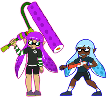 We're Kids Now We're Squids Now by sugaryDragon413