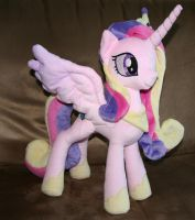 Princess Cadance Plushie by Yukamina-Plushies