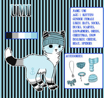 .: Updated Umi ref :. by T-e-a-K-i-t-t-y