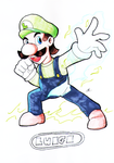 IT'S ME, LUIGI! by kaiserkleylson
