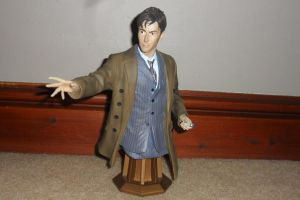 Maxi Bust - 10th Doctor by Nephew-Ood-1