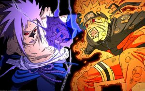 naruto vs sasuke by PANDA-monium1