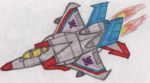 Starscream: Jet-mode by theflash13