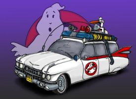 Ghostbusters - Ecto 1 by soul-courageous