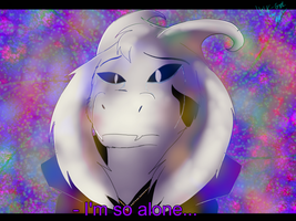 I'm so alone... by Wolfgirlthe1st