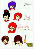 Ladies of Fire by lordtrigonstar