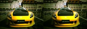 Yellow Beast 3D by JanD