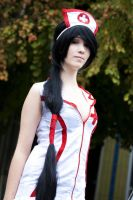Nurse Akali League of Legends by DaniStormbornCosplay