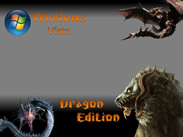 Vista Dragon Edition Logon by Drake09