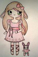 Rachel and Bunny by Maddie-Pie