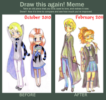 Before After meme by Jeananas