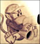 Epic Diddy Kong by DiddyKonger