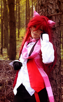 Ciel in Wonderland I: Cheshire Grell by Minami19
