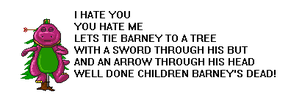 How the barney song should be by Oskarmandude