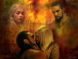 Dany and  Drogo by mirishka10