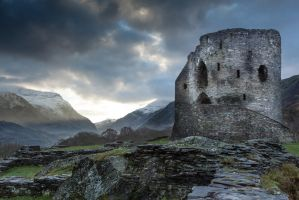 Dolbadarn Castle, Llanberis, Wales, UK by One-The-Fringe