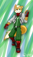 Fox McCloud by WarGreymon43