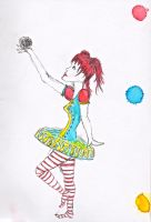 Circus girl by AbsyntheRequiem